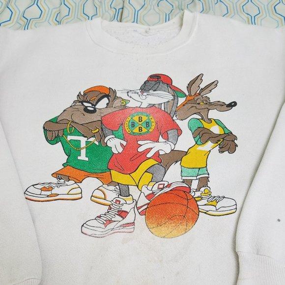 Vintage 90s Looney Tunes Cross Colours Sweatshirt